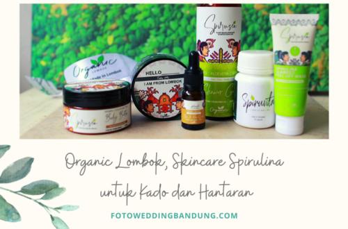 skincare organik untuk hantaran pernikahan